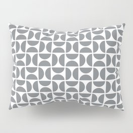 HALF-CIRCLES, GREY Pillow Sham