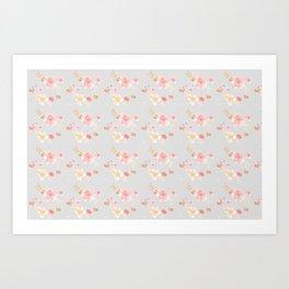 Hygge Floral Art Print