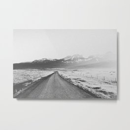 ON THE ROAD XX / Iceland Metal Print
