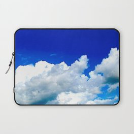 Clouds in a Clear Blue Sky Laptop Sleeve