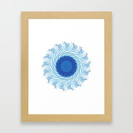 For when you need to gather strength Framed Art Print