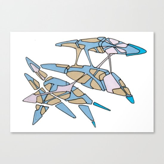 Hiva-03 Canvas Print