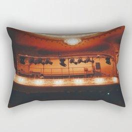 Night at the theatre Rectangular Pillow