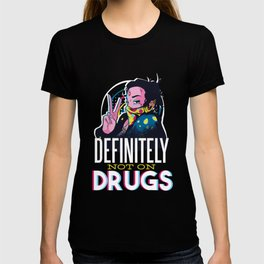 Best not on drugs design online T-shirt