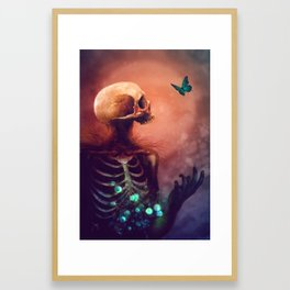 I'm dying, I hope you're dying too Framed Art Print