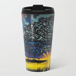 Sunset Silhouette Travel Mug