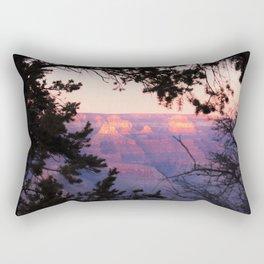 Sunset at Grand Canyon 2 Rectangular Pillow