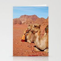 camel Stationery Cards featuring camel by lularound