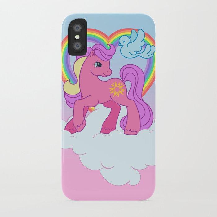 g2 my little pony Sundance iPhone Case by gertee