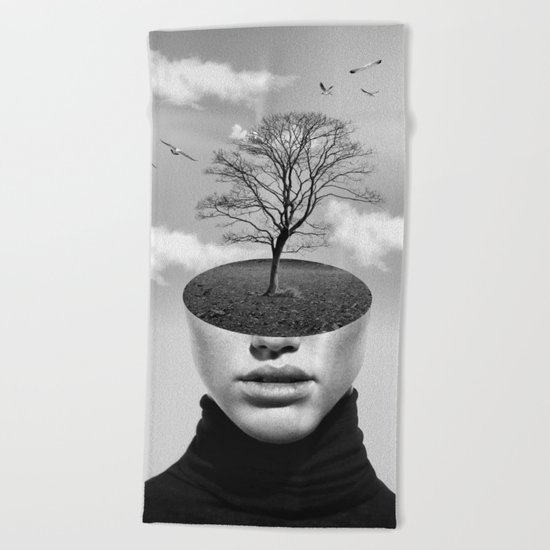 TREE 2 Beach Towel