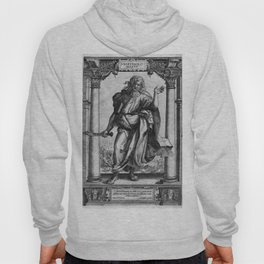 Saint Bartholomew Antique Engraving Hoody