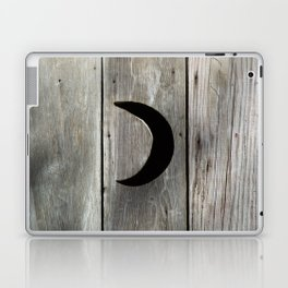 Outhouse Moon Laptop & iPad Skin