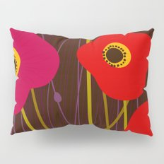 Red Poppy Flowers by Friztin Pillow Sham