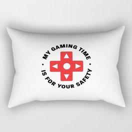 My gaming time Rectangular Pillow