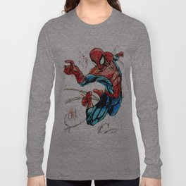 Web-Slinger Spider-Man Long Sleeve T-shirt