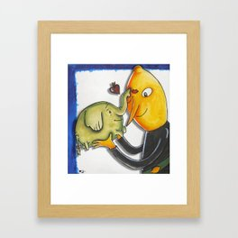 That'll Do, Slave Trunks Framed Art Print