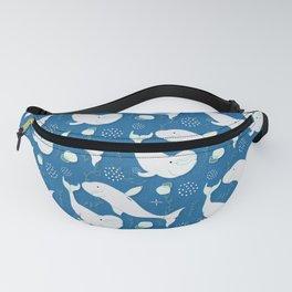 Beluga Whale Blue #homedecor Fanny Pack
