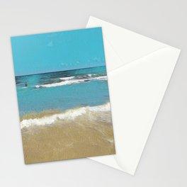 Palm Beach Waves Stationery Cards