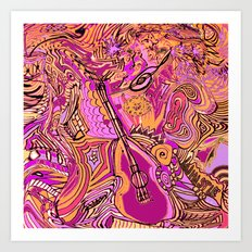 Dance to the Music Art Print