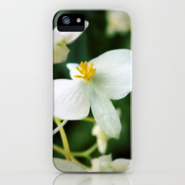 Yellow Fingers iPhone Case