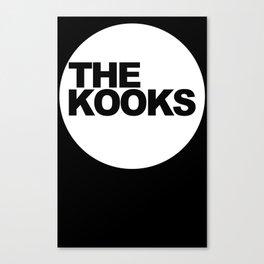 the kooks logo Music Canvas Print