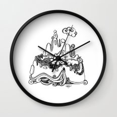 Lonely Mountain Wall Clocks