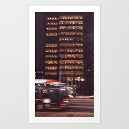 Light building Art Print