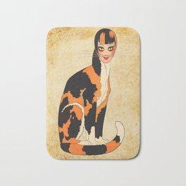 Cat-Woman Bath Mat