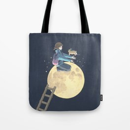To The Moon Tote Bag