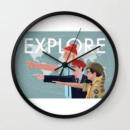 LIFE RUSHMOONRISE Wall Clock