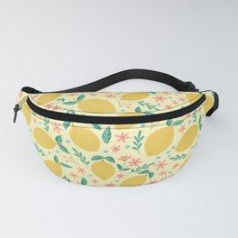 Mellow Yellow Lemons Fanny Pack