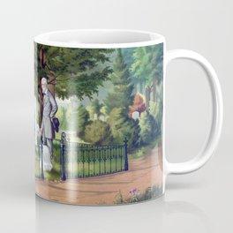 Robert E. Lee Visits Stonewall Jackson's Grave Coffee Mug