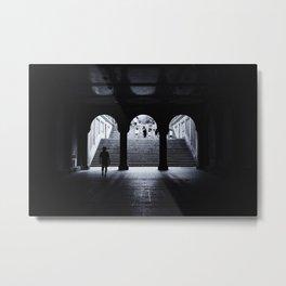 From Dark to Light Metal Print