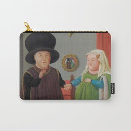 Botero - The Arnolfini (after Van Eyck) Carry-All Pouch