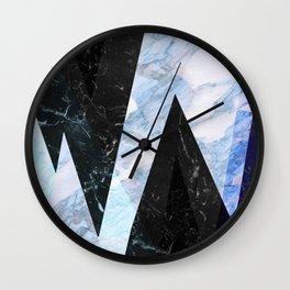 Marble stone ( frozen ) Wall Clock