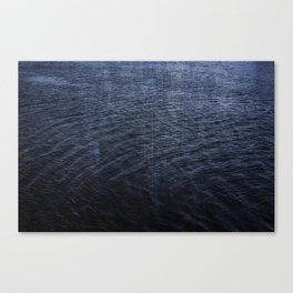 Cold Blue Waters of Little Lake Canvas Print