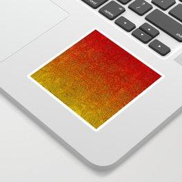 Flame Glitter Gradient Sticker