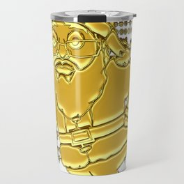 ***Get It Now*** 24 Karat  MoCKiNg SaNta! Travel Mug
