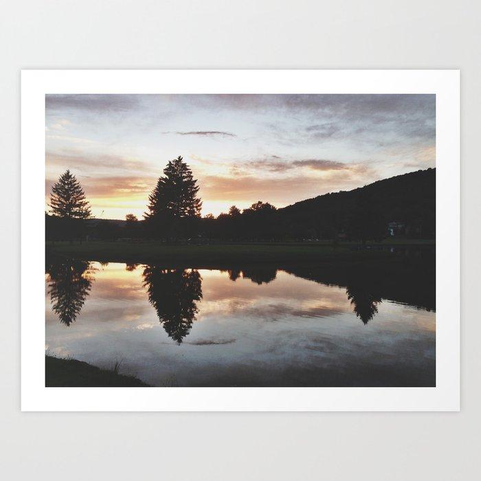 Hamlin Lake Art Print