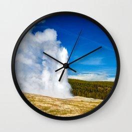 Old Faithful Wall Clock