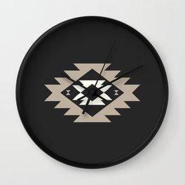 Kurt in Black and Cream Wall Clock