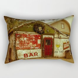 Old Bar In New Orleans Rectangular Pillow