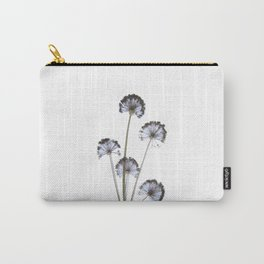 flowers on white background. botanical prints framed. Carry-All Pouch