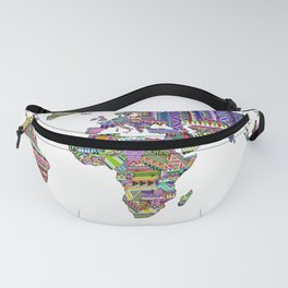Overdose World Fanny Pack