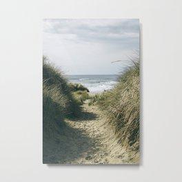 To The Beach Metal Print