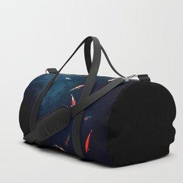 Koi Around Duffle Bag