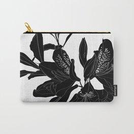 Fleur Noir Carry-All Pouch