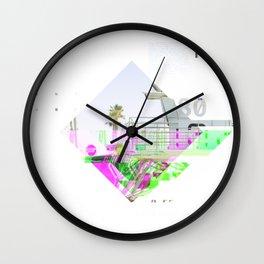 GLITCH NATURE #115: Oceanside Wall Clock