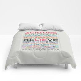 U2 ZOO TV Comforters
