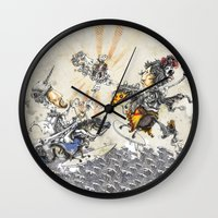 knight Wall Clocks featuring Knight by JoeyDrawing